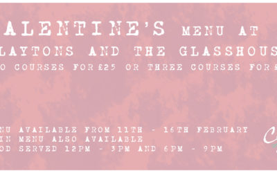 Valentine's @ Claytons and The Glasshouse